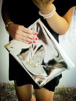 new 2013 handwork metal color fashion envelope day clutches vintage women's handbag luxury elegant evening bags ladies party