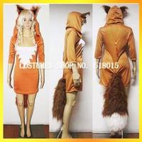 2013 Free shipping halloween fox costume for women/sexy carnival costume for women/discount women costume AEWC-5650