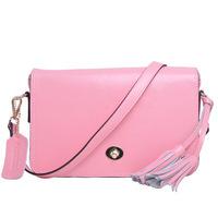 Women Leather Handbags Genuine Leather Women Messenger Bags Fringe Yellow Bolsas Shoulder Bag Famous Brands Desigual New 2014