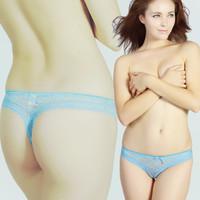 ladies` g-string,fishnet smooth panty sexy underwear