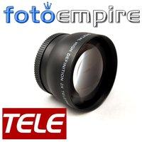 58mm 2.0X TELE Telephoto Lens 58 mm 2X  Tele Converter Lens for Canon EOS 1100D 1000D 600D T2i T3i 18-55mm Camera
