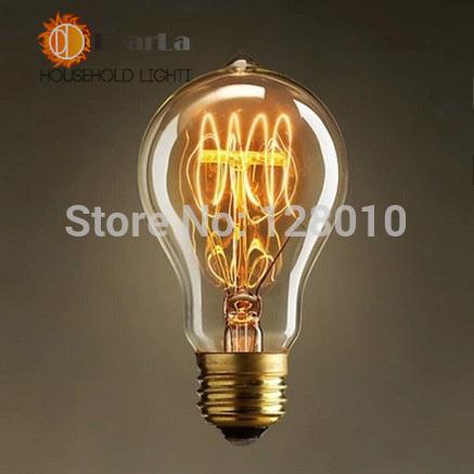 Edison a19 e27 vintage. ampoule à incandescence, ménage./bar,/café/hôtel/robe. boutiquepour rétro/classicquallity/ampoules