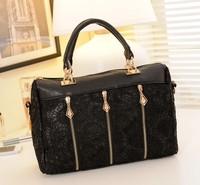 The new 2014 female bag fashion lace bag shoulder hand tide restoring ancient ways bag inclined shoulder bag