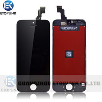 For Iphone 5c Compatible Front Housing LCD Touch Digitizer Glass Screen Assembly 10pcs By DHL Free Shipping