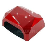 18W LED  light therapy  CCFL  Diamond Shape Nail Dryer Nail Art Led UV Nail Lamp LED light trerapy