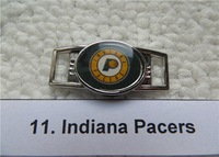 National  Basketball  Association team logo  shoelace charms for paracord bracelet  5pcs/lot  craft accessories
