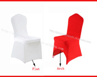 Leather Pocket Chair Cover Free Shipping chair cover  For Wedding  White Spandex Lycra Chair Cover with Leather pocket