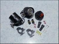Free shipping 1pair 20W 1800 Lumen 1LED Motorcycle Spotlight motorcycle led headlight 20w motorcycle led light spot beam