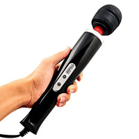 Magic wand Massager 10 function vibrating soft flexible head relaxes sore muscl Deep soothing vibrations,Body massager