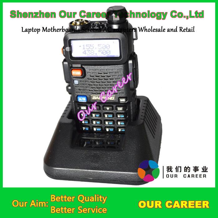 Top quality BAOFENG UV-5R UHF+VHF Dual Band/Dual Watch Two-Way Radio FM Function Free Shipping(China (Mainland))
