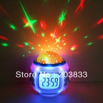 Free Shipping 3W E27 Colorful Rotating RGB LED Stage light LE072 lamp Bulb