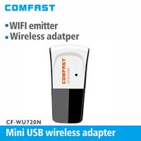 Mini USB 150Mbps 802.11 n/g/b  WiFi adapter Networking Lan Card Wireless signal receiver/transmitter
