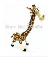 Free shipping 35cm Lovely Giraffe Stuffed Plush Toy Doll Madagascar 3 for kids Christmas toys