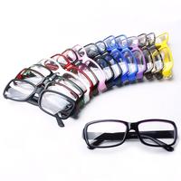 Fashion vintage belt plain glass lens glasses frame glasses pc mirror glasses