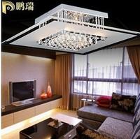 Pengs lighting modern brief bedroom lights crystal ceiling light fitting 507-35cm