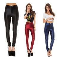 Europe hot sexy lady high waist pants disco pants /have pocket Black and other eight kinds of colors free shipping