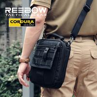 THUNDER XForce Tactical Messenger EDC Bags Men's Casual Sports Travel Army Military Molle Single Shoulder Bag 1000D Nylon