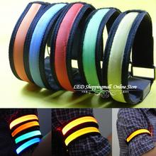 300pcs/lot outdoor led light glow arm/leg band,flash led wrist  band,safety product for sports, Bicycle Running dhl freeshiping(China (Mainland))