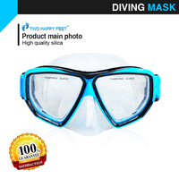 Diving Gear - Adult Swimming Goggles, Silicone Diving Mask, Swim Glasses - Free Shipping