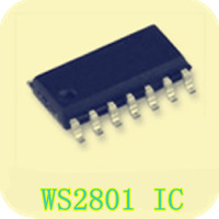 WS2801 Full-color drive IC Double three-channel LCD TV LED RGB Backlight control PWM signal generator