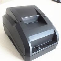 Free shipping black USB Port 58mm thermal Receipt pirnter POS printer low noise.printer therma
