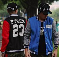 Pyrex Jordan 23 Baseball Jacket Hoody Black/Red S-5XL Witer Autumn New Lover Mens Sport Outerdoor Sweatshirt Uniform