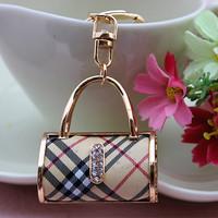 Free shipping fashion jewelry purse Handbag car keychain bag charm pendan key ring Hanger Key Ring Key Chain