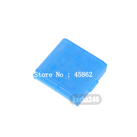 100pcs new blue Hard Plastic Case Storage Box For AA AAA Rechargeable Battery Flash