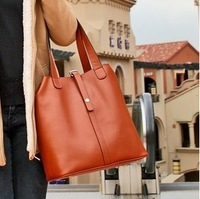 2013 New Leather Fashionable Retro Portable Shoulder Leather Factory Wholesale Sales To Accept 25-1