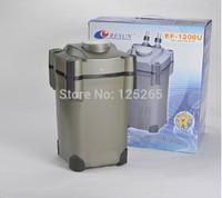 RESUN Brand Aquarium Marine or Freshwater Tank External  Canister Filter With UV Lamp EF-1200U 30W 1200L/Hr