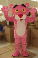Adult Pink Panther Mascot Costume sales Fancy Dress   Pink Panther Mascot Costume  Free Shipping