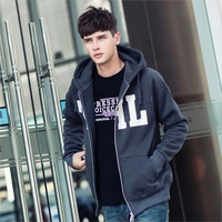 [Big Man] 2013 Mens hooded sweater Korean version fashion personality wild Mens casual jacket sweater men sweater