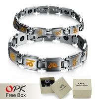 OPK JEWELRY 2014 New Fashion Stainless Steel energy bracelet power balance with box for men/ women, 3141J