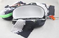wholesale 10pcs sunglasses Hook Zip Bag case boxes Hard Case