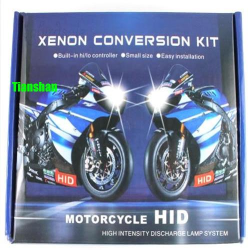 Motorfiets hid kits xenon h4 4300k/6000k/8000k/12v 35w 10000k motor bi