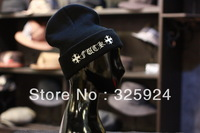 Best wholesale stock! knitted hat (10 piece a /lot)100%cotton men's beanie in korean  fashion style with FU*C*K character