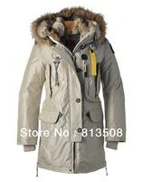 2013 real fur coat for women's down jackets winter outdoor clothes parkas overcoat Sanbing long Kodiak 921