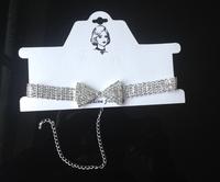 2013 hot sale silver wedding necklace set