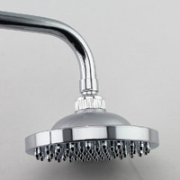 8 inch 20cm Plastic Round Rainfall shower head chuveiro ducha mesa douche banheiro Bathroom accessories 9059-8