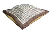 (2pcs/set) Free shipping FU18 Japanese low style  heated table Kotatsu quilts futon 195*195cm