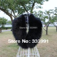 Sub fur collar fox fur raccoon fur vigoreux cap of down coat woolen overcoat scarf cape female