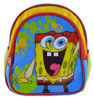 "10"" Sponge Bob School Backpack bags for Baby, child Bags Cartoon Bags for preschool boys Welcome for wholesale HSBO10-02"