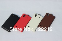 Hot selling High grade leather phone original Good Quality cover case for Philips W832 Free Shipping
