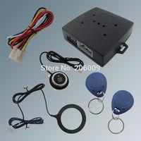 Hot Selling RFID Car Alarm System Finger Engine Start Stop Button And Transponder Immobilizer!!!