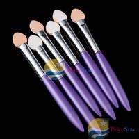 [Super Deals] 6 PCS Eye Shadow Makeup Brushes Brush Sponge Applicator Tool wholesale