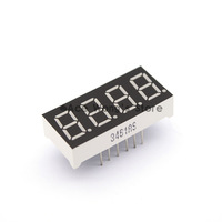 """Free shipping (10Pcs/lot) Wholesale 0.36"""" inch 4 Digits 7 Segment Segment Red LED Numeric Digital Display,Common Anode"""