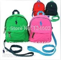 anti lost bag 100% cartoon children school bag kindergarten small school bag male female child baby backpack anti-lost bag