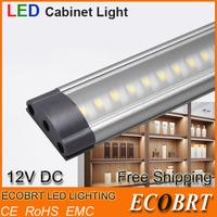 2014 sale lamp [presale] 2pcs/lot 500mm long 12v led tube linear cabinet strip lights 72pcs smd3528 for kitchen under bar