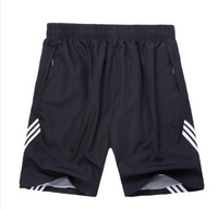 Hot sale male sport Casual Running Shorts knee length sports shorts fashion for men in five colors