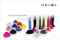 Free shipping  Rubber Colorful E-Cigarette Battery Base E Cigs Batteries Ego Battery Base 100pcs/lot